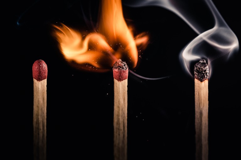 Matches | © Emilio Küffer/Flickr