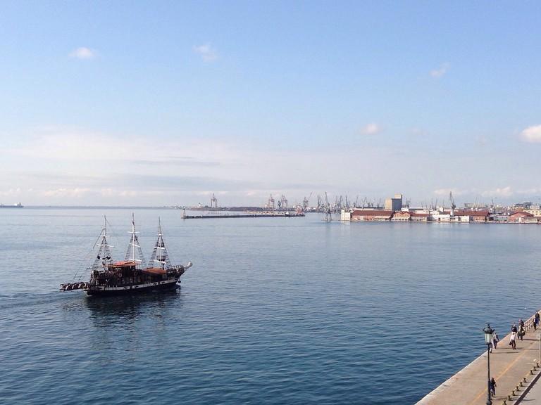 Thessaloniki harbour| ©James Dennes/Flickr