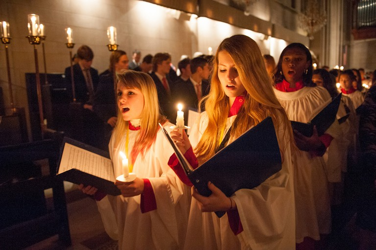 Carols by candlelight © St George's School/Flickr