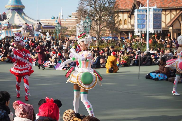 Tokyo Disney Christmas parade | © othree/Flickr