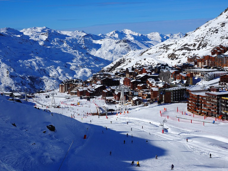 View over Val Thorens   © Richard Allaway/Flickr