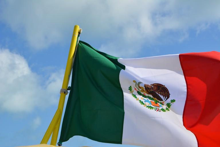 Mexican flag | © Jason Rosenberg/Flickr