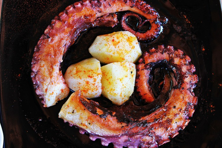 Galician style octopus | © Jesús Dehesa