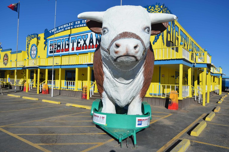 The Big Texan Steak Ranch © Hans Marschdorf/Flickr