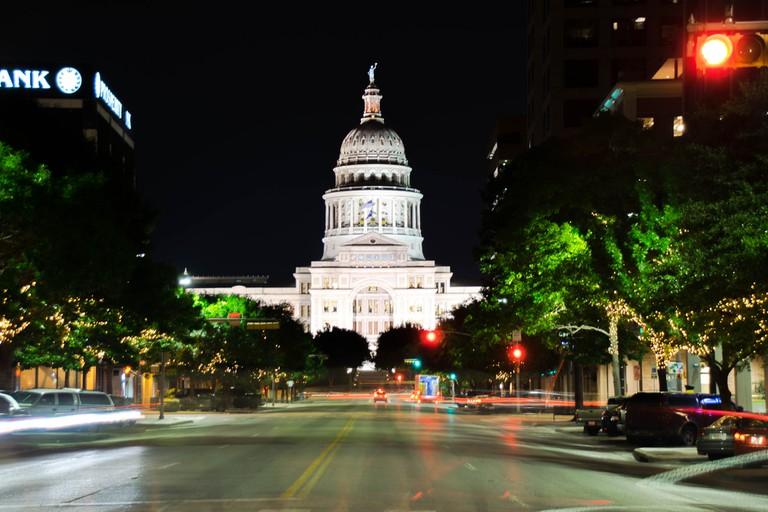 Texas Capitol at Night © J Dimas/Flickr