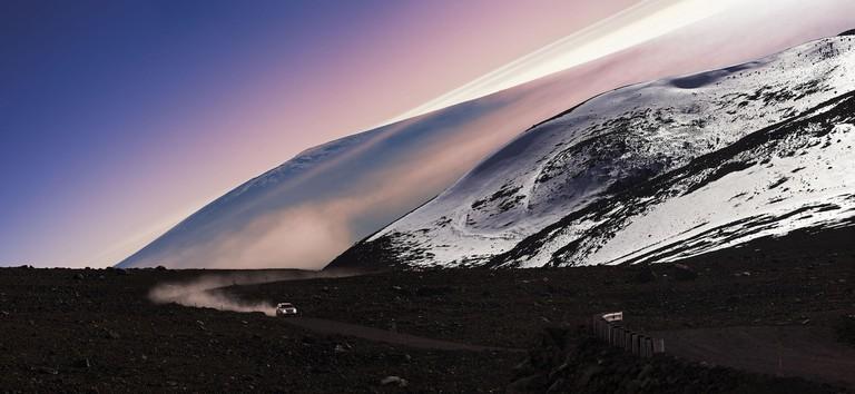 Mauna Loa from Mauna Kea panorama | © mail_collector/Flickr