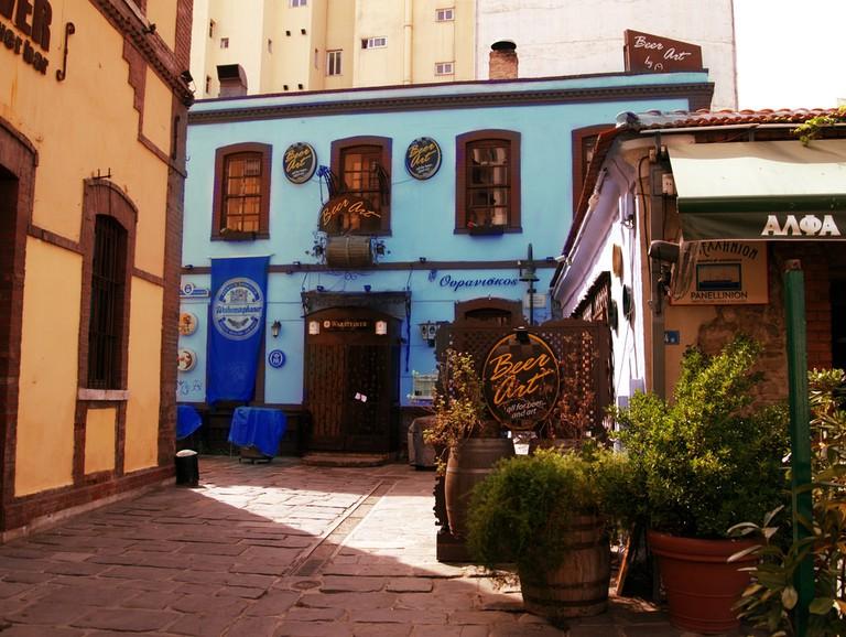 A street in Ladadika