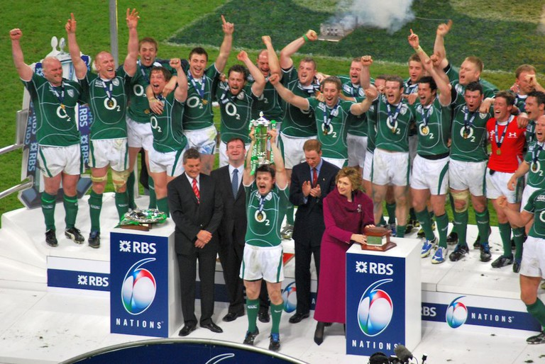 The Irish rugby team in 2009   © ArunMarsh/WikiCommons