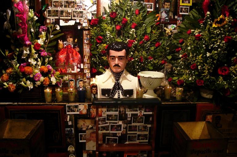 Malverde's Altar, Culiacán   © David Boté Estrada/Flickr