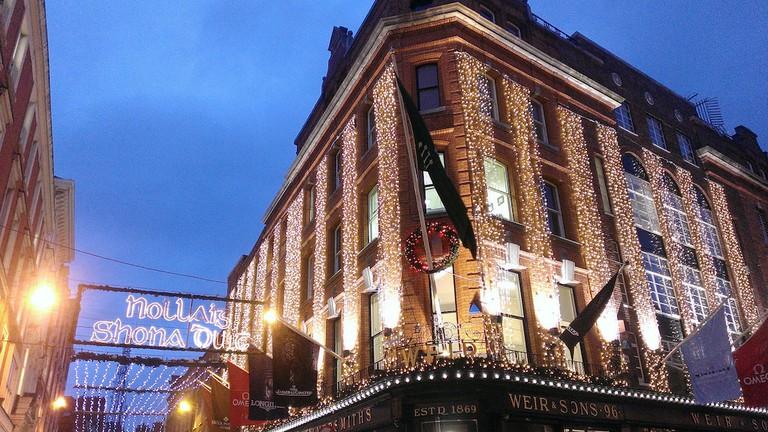 Christmas lights on Grafton Street | © juppschmitznippes/Flickr
