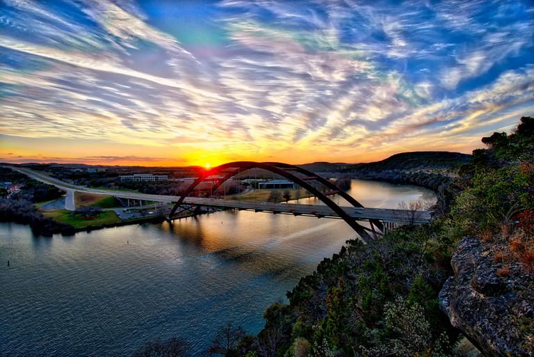 360 Bridge Sunset © sbmeaper1/Flickr