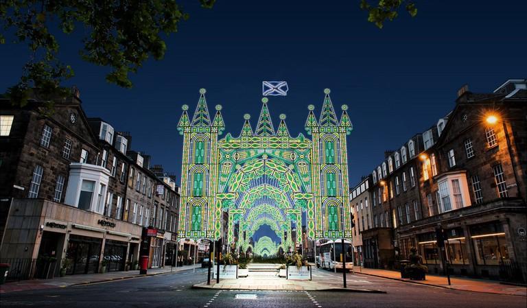 George Street | © David P Scott / Courtesy Of Edinburgh's Christmas