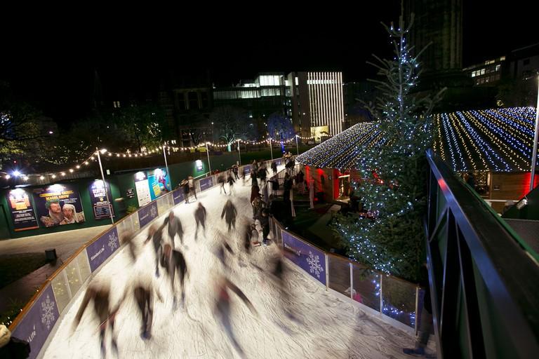 St Andrews Square Ice Skating | © Eoin Carey / Courtesy Of Edinburgh's Christmas