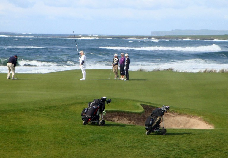 Golfcourse at Doonbeg | © Paul O'Mahony/Flickr