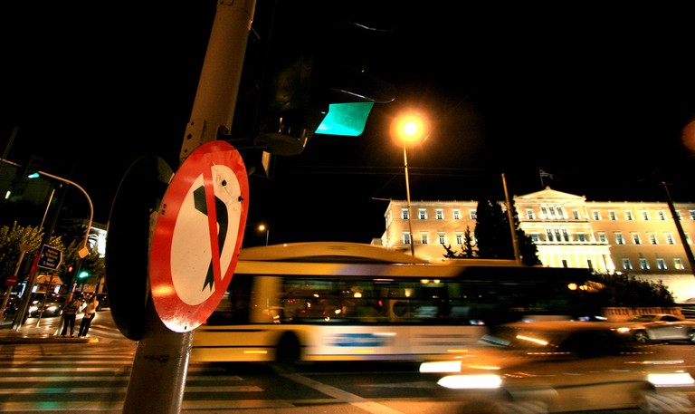 Athens Intersection |© Evan Blaser/Flickr
