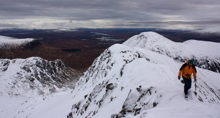 Aonach Eagach ridge walk