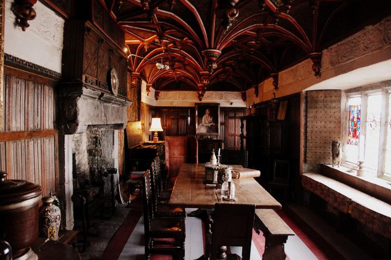 Interior of Bunratty Castle  © LWYang/Flickr