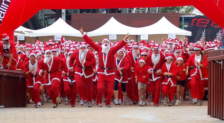 Santa Fun Run | © Me!bourne Mermaid/Flickr