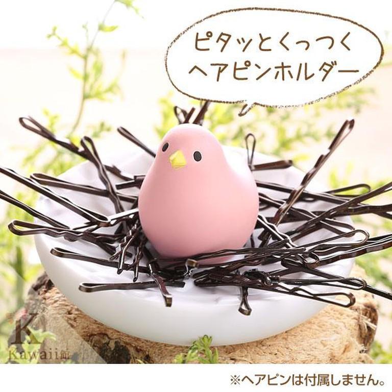 Bird hair pin organizer | © Strapya World
