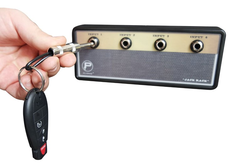 Jack Rack Guitar Amp Key Holder   © Amazon