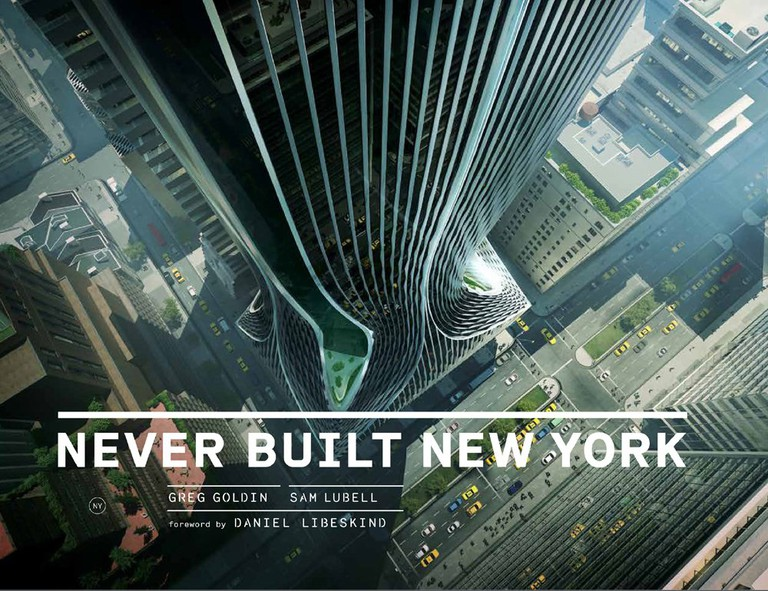 Never Built New York Cover
