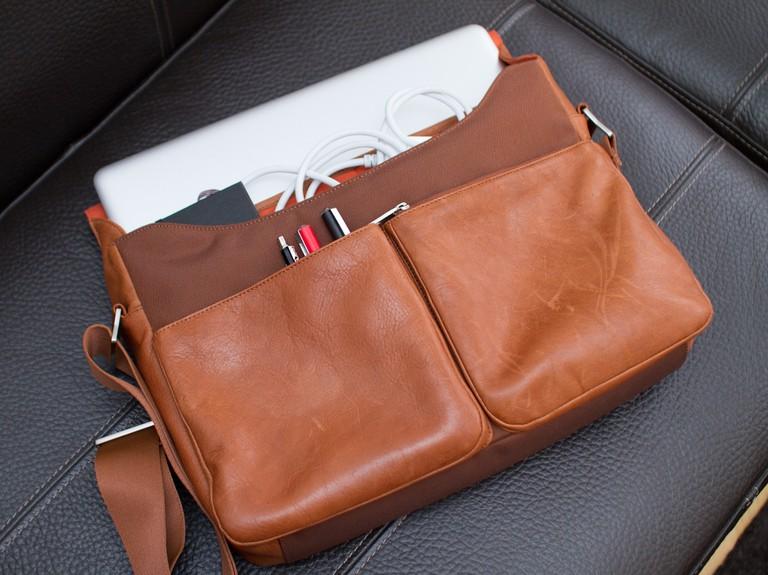 Leather messenger bag © Fredrik Ohlin/Flickr
