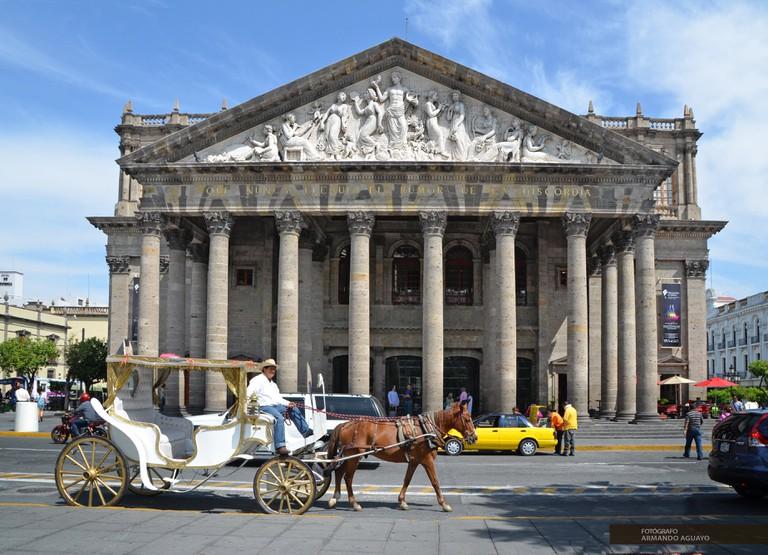 Teatro Degollado, Guadalajara | © Armando Aguayo Rivera/Flickr
