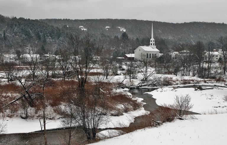 Stowe, Vermont, winter | © Peter Rintels/Flickr