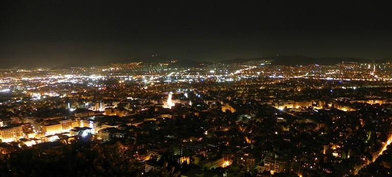 Athens by night|© Tristan Honscheid/Flickr