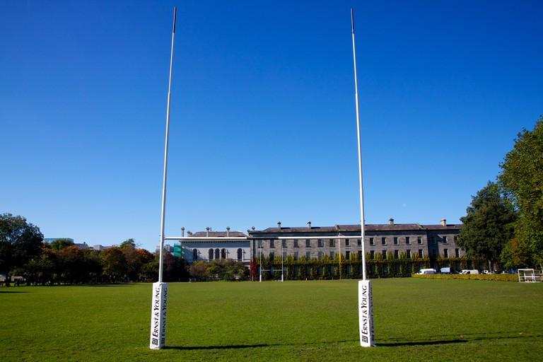 Trinity College rugby pitch | © Der Robert/Flickr