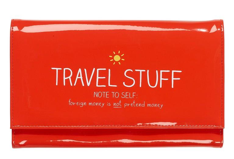 Wild and Wolf Happy Jackson Document Wallet Travel Stuff