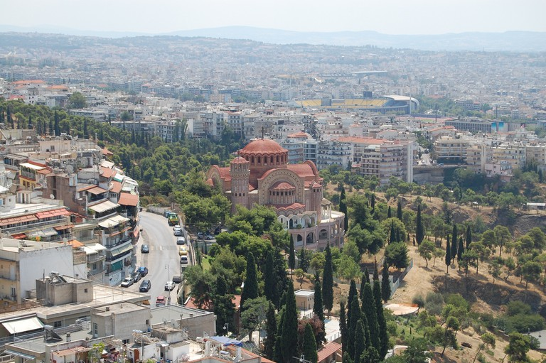 View Of Thessaloniki | © andre.wojtowicz/Flickr