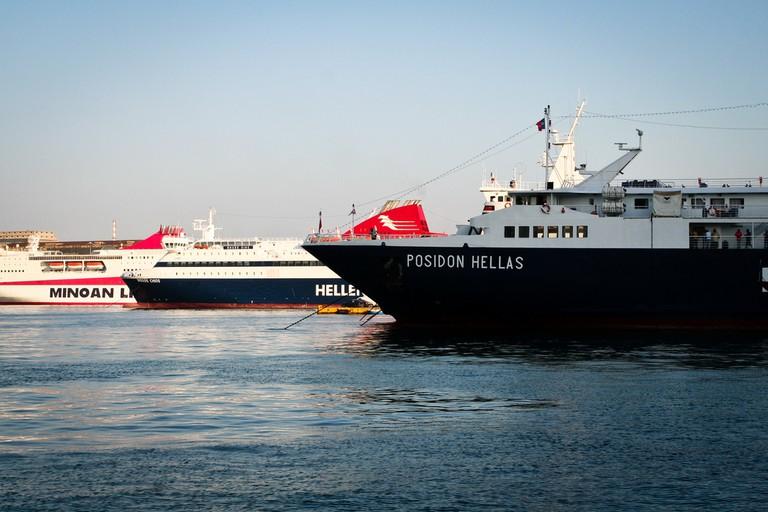 Ferries, Piraues, Greece | © Sharon Mollerus/Flickr