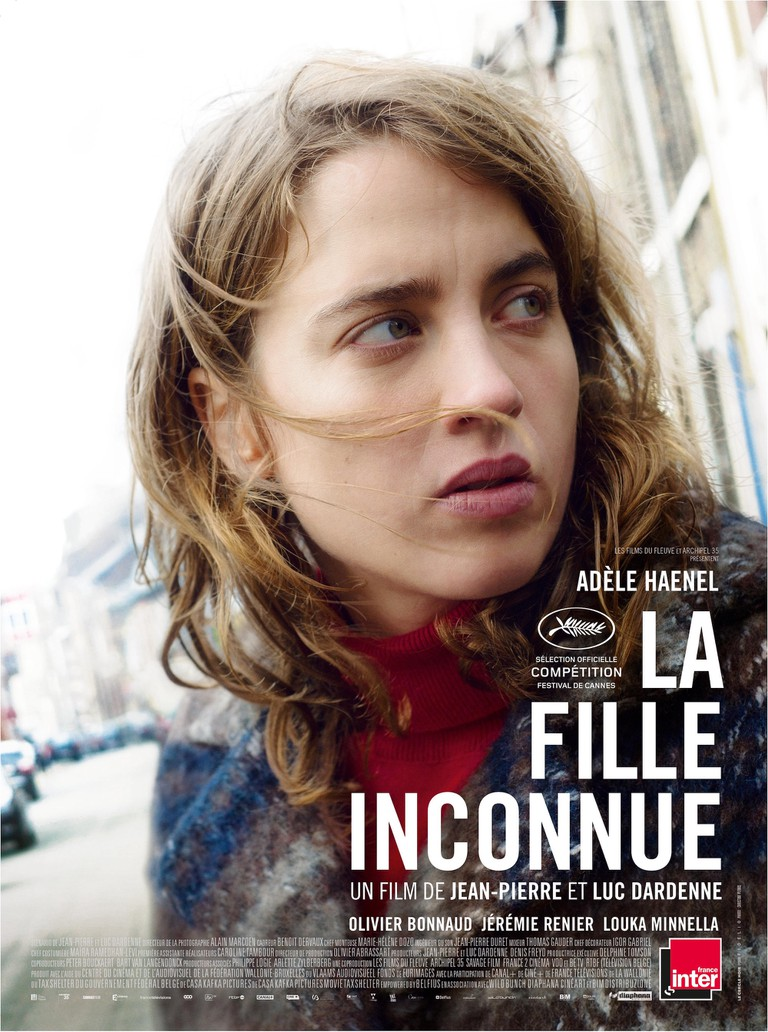 Adèle Haenel in 'The Unknown Girl' | © Cinéart