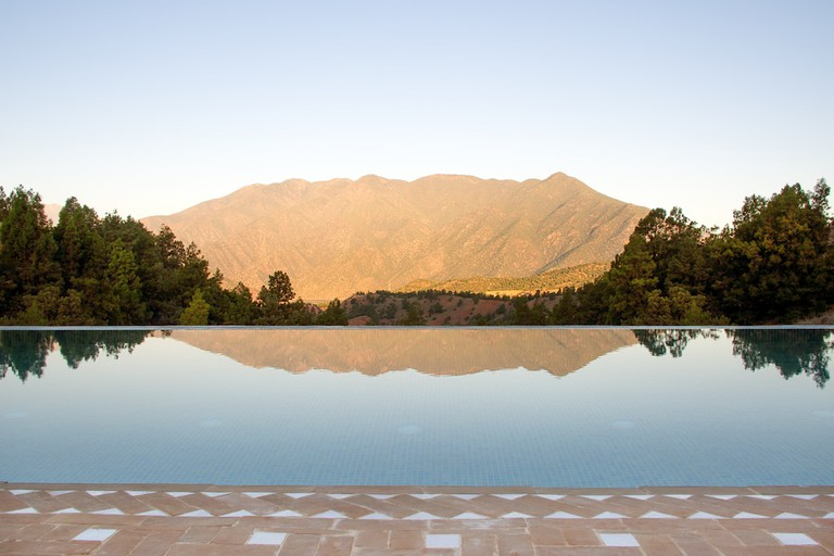 Views from the infinity pool at L'Amandier | Photo: Anthony Craddock Photography
