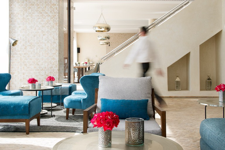 Dining room at L'Amandier | Photo: Anthony Craddock Photography