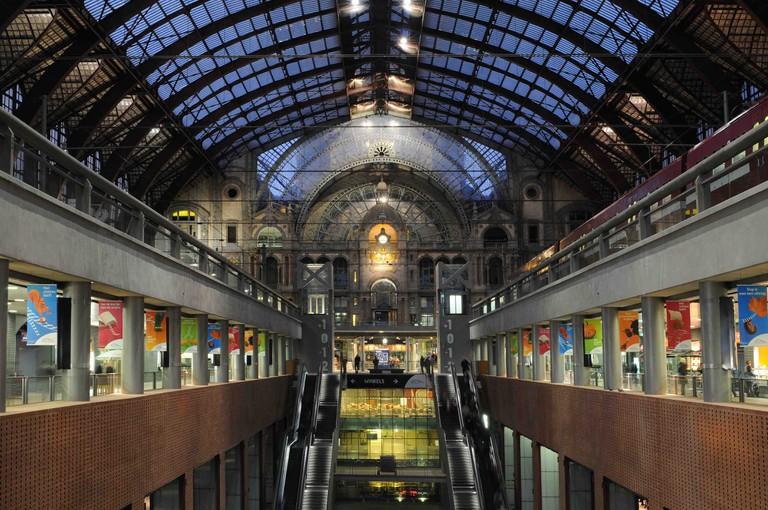 Antwerp Central Station   © Jan Crab/courtesy of Visit Antwerp
