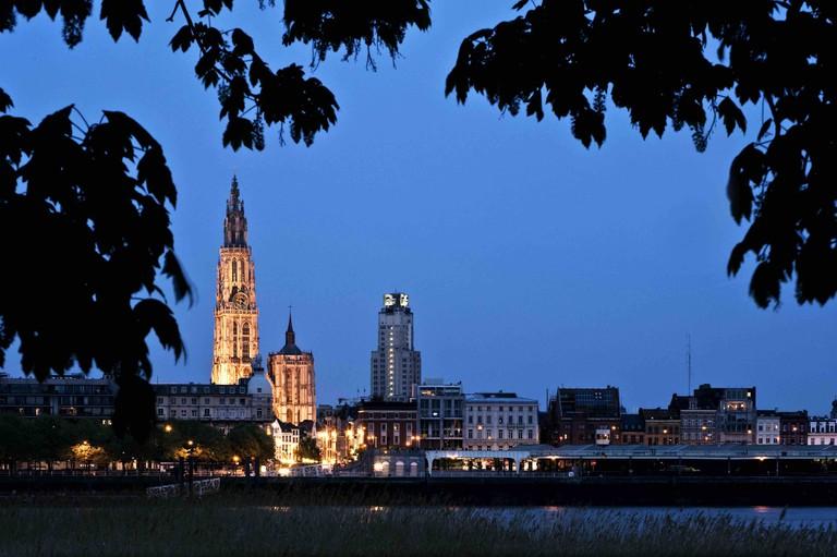 Antwerp skyline | © Dave Van Laere/courtesy of VisitAntwerp