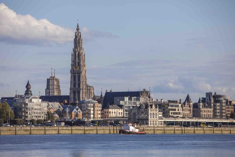 Antwerp skyline   © Sepp Van Dun/courtesy of Visit Antwerp