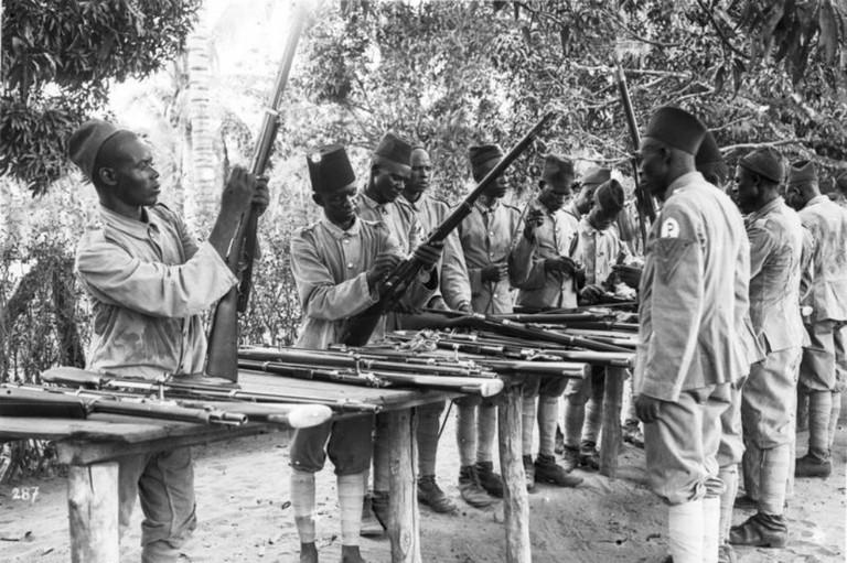 'The Askari colonial troops in German East Africa, circa 1906' | © Ras67/WikiCommons