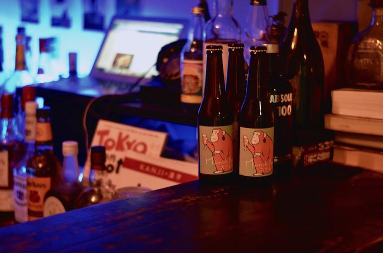 Laidback Bar Flat is set up in a quiet corner of Shibuya © Courtesy of Bar Flat