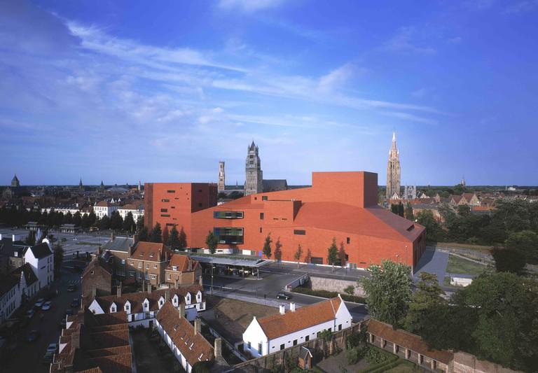 Bruges' concert building and 't Zand site| © Stad Brugge/courtesy of Toerisme Brugge