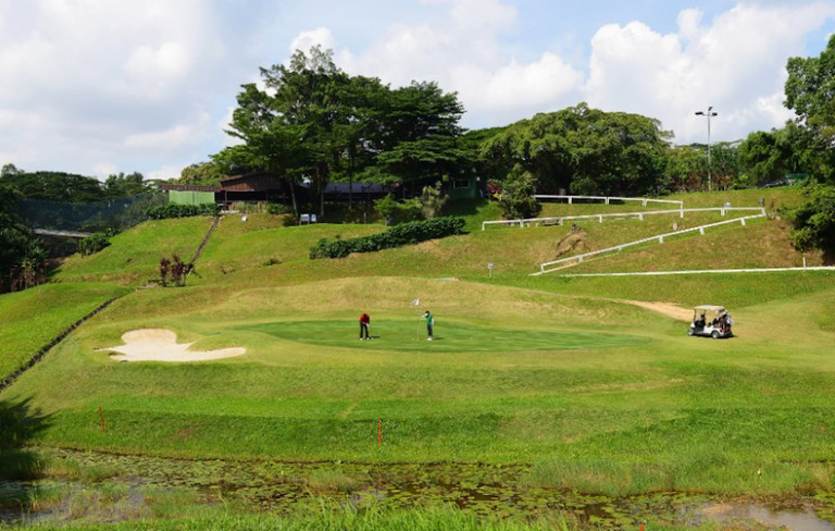 Opened as the Bukit Timah Golf Complex, it was rebranded Champions Golf in 2013 © Courtesy of Champions Golf