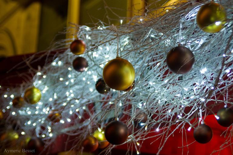 Christmas decorations in Paris │© Aymeric B.