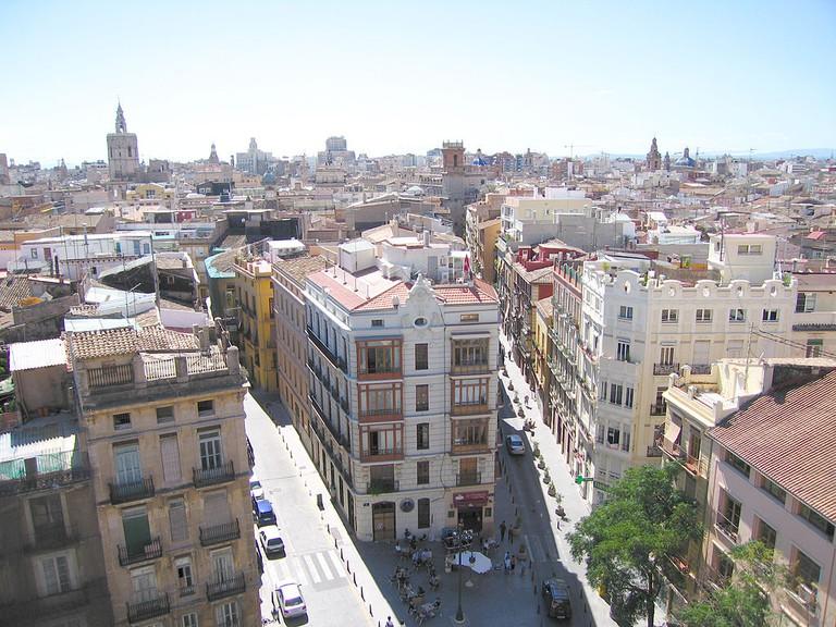 Ciutat Vella, Valencia / Wikimedia Commons