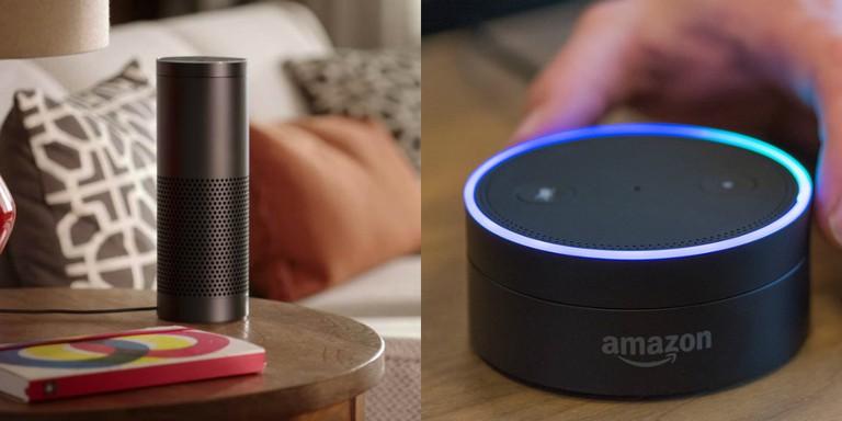 Amazon Echo and Dot   © Amazon