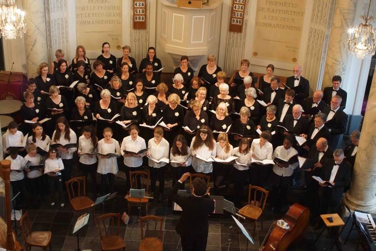 Brussels International Singers in concert | Courtesy of Brussels International Singers