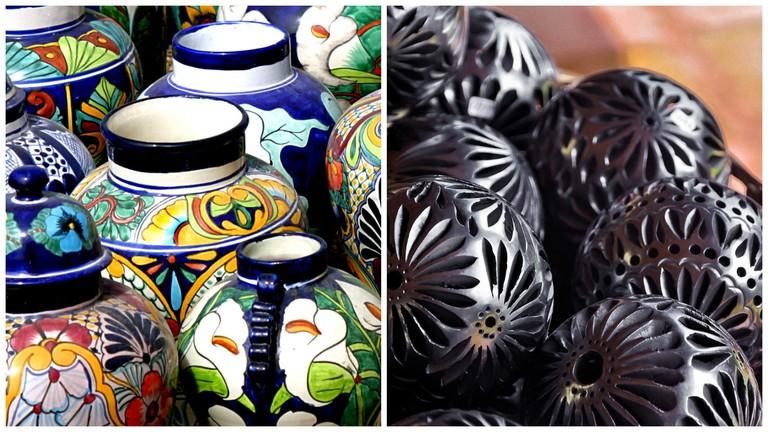 Pottery | © David Dennis/Flickr / Barro negro pottery | © Eduardo Robles Pacheco/Flickr