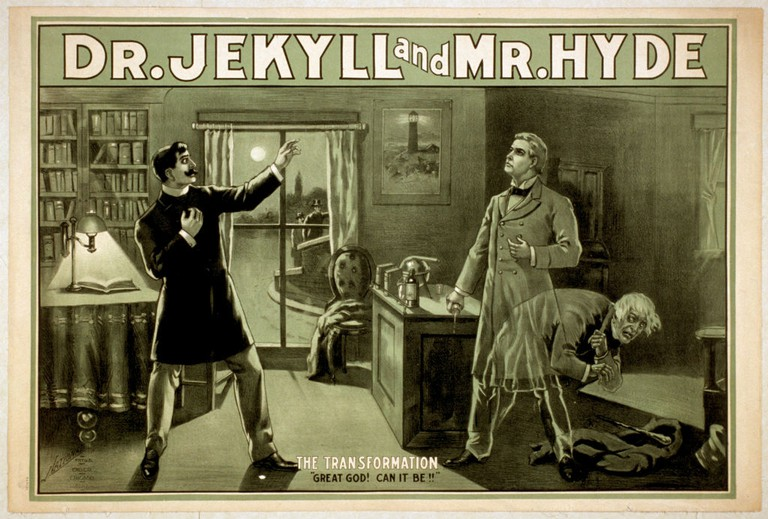 Dr Jekyll And Mr Hyde Poster | Robert Louis Stevenson | Courtesy Of Edinburgh UNESCO City Of Literature Trust