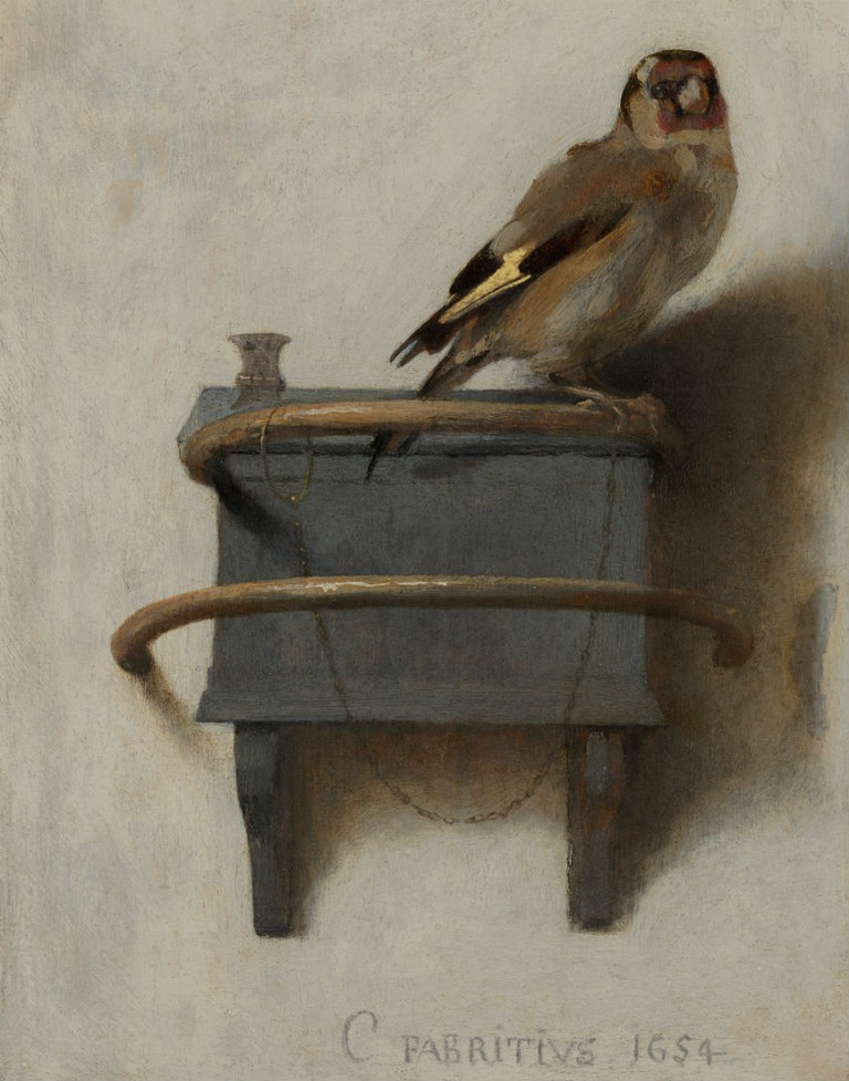 The Goldfinch By Carel Fabritius | © WikiCommons